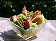 Salade niçoise gourmande