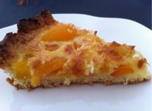 Tarte coco-abricots