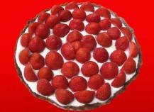 Tarte aux fraises chococo