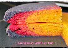 recette rainbow cake la mousse de chocolat blanc 750g. Black Bedroom Furniture Sets. Home Design Ideas