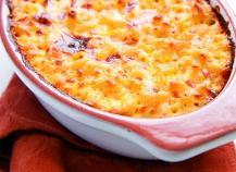 Gratin de pâtes au jambon, gratiné au fromage râpé Gusto Intenso Giovanni Ferrari