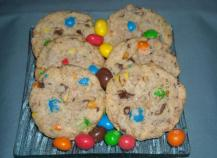 Cookies moelleux au m&ms