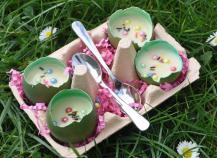 Crème vanillée de Pâques