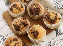 Mini muffins banane chocolat