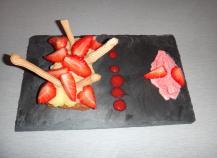 Assiette fraisi gourmande