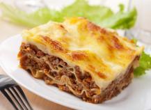 Lasagnes gourmandes à la bolognaise