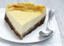 Cheesecake aux zestes de citron