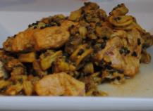 Curry de poisson et fruits de mer