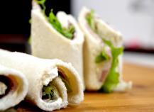 Sandwich roulé