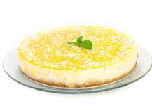 Cheesecake au citron et au fromage à la crème Elle & Vire