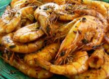 Crevettes sautées au Ponzu à la plancha