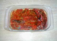 Poivrons grillés à l'ail (Hors d'oeuvre)