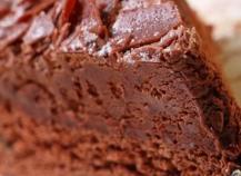 Douceur de chocolat noir au coeur fondant