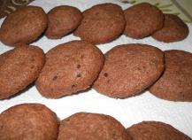 Biscuits chocolat - noix de coco