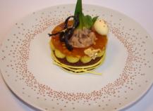 Ma tartelette de Pâques : chocolat, ananas et fruit de la passion