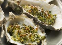Recettes huîtres chaudes