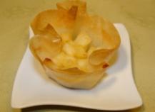 Croustillant de boudin blanc aux pommes