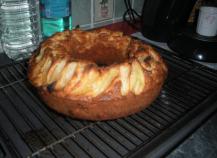 Gâteau aux pommes poires cannelle