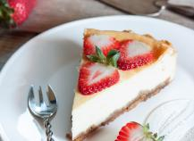 Cheesecake aux fraises express