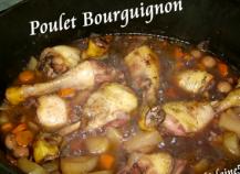 Poulet bourguignon