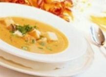 La soupe de pommes de terre