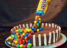 Gravity cake