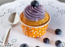 Cupcake à la myrtille