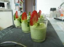 Gaspacho concombre et fenouil