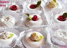 Couronnes glacées aux amandes (Pâtisserie orientale)