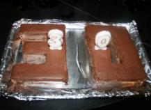 Gâteau au petit brun et chocolat