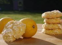 Crinkles au citron et noix de coco