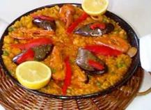 La paella aux fruits de mer
