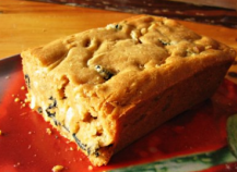 Cake Chorizo Champignon Oignons