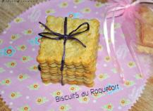 Biscuits au Roquefort