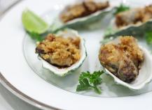 Recettes huîtres gratinées