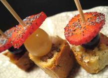 Cake Roquefort Lardons Thermomix