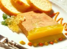 Terrine de foie gras au calvados