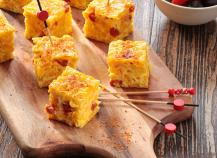 Tortilla au maïs et chorizo