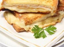 Croque-Monsieur au Maroilles Fauquet et bacon