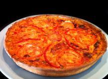 Recette quiche aux tomates cerises et basilic au fromage - Parole j ai attrape un coup de soleil ...