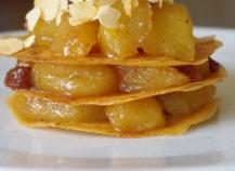 Pastilla aux pommes caramélisées au vinaigre Xéres