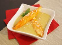 Coraya Suprêmes langouste, crème de lentilles corail au lait de coco