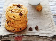 Mes cookies au chocolat !