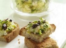 Caviar de courgettes aux saveurs grecques