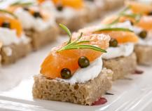 Toasts de saumon