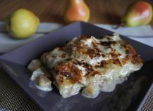 Lasagnes au Roquefort et aux poires