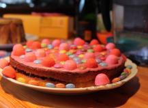 Gâteau au yaourt pour un anniversaire