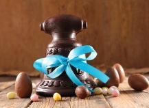Cloches de Pâques au chocolat