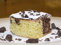 Gâteau au yaourt choco coco de lili
