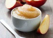 Compote de pomme au micro ondes